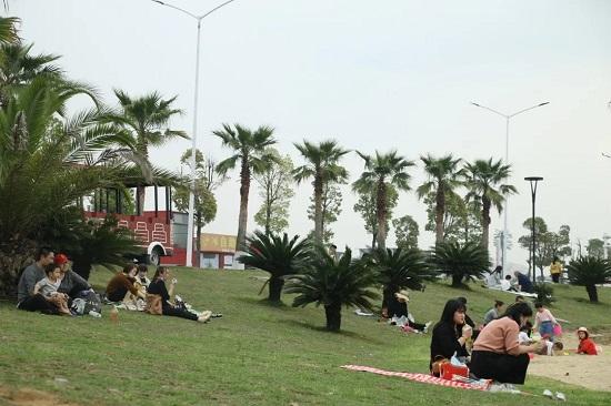 沙滩公园亲子时光