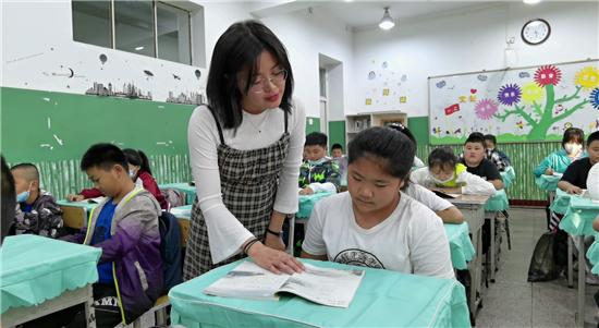 大庆市让胡路区喇嘛甸中学——战思冰