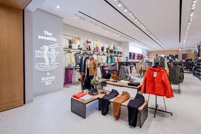 拥抱江城,运动生活方式品牌lululemon在武汉开设第二家门店