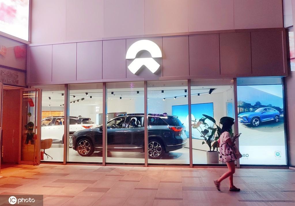 2021年9月7日,上海一家蔚来汽车的门店