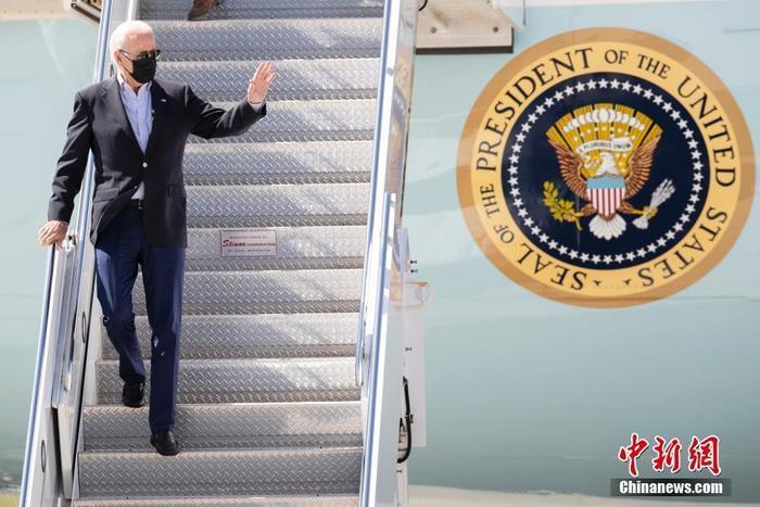 资料图:美国总统拜登。 <a target='_blank' href='http://www.chinanews.com/'>中新社</a>记者 廖攀 摄