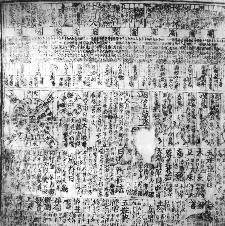 唐乾符四年丁酉岁(877年)历日