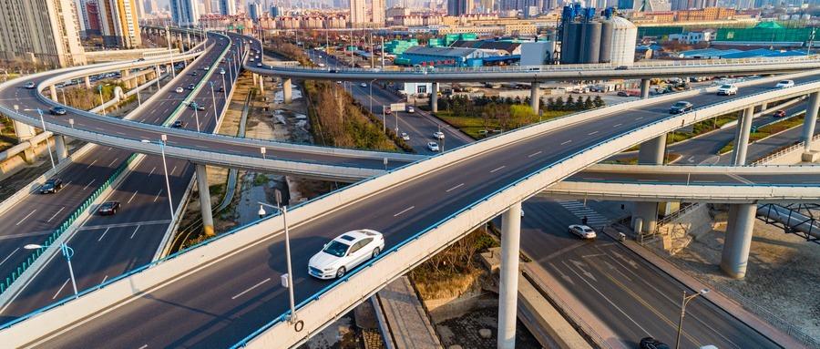 力争年底竣工 青岛这座立交桥工程建设传来新进展