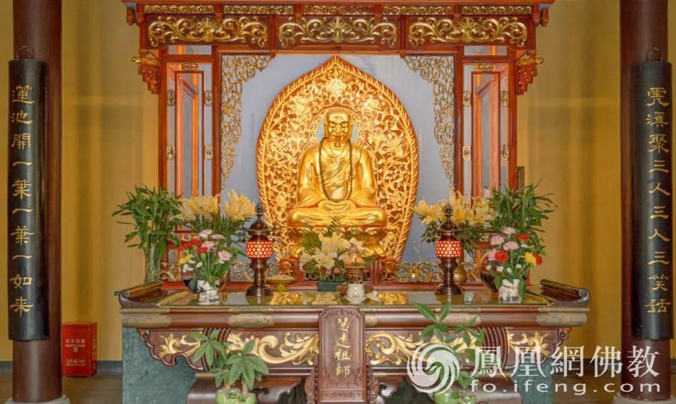 慧远大师像(图片来源:凤凰网佛教)