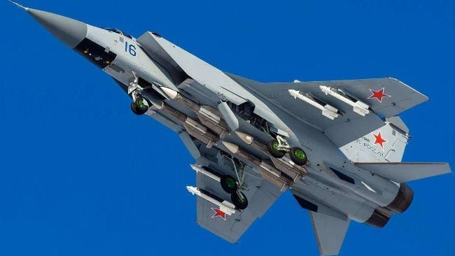 圖為俄空天軍米格31截擊機