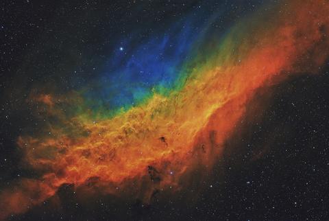 加州梦'NGC 1499