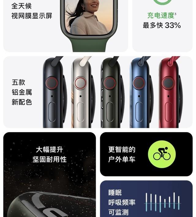 一定不要买Apple Watch Series 7的5个理由
