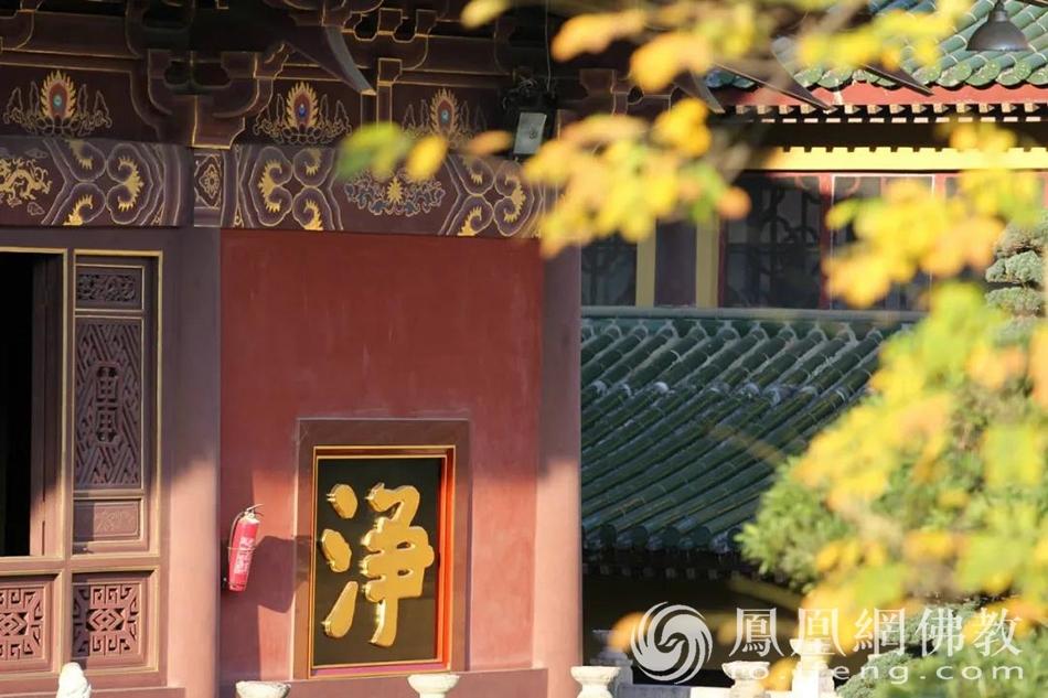大殿一角(图片来源:凤凰网佛教)