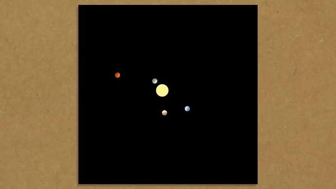 模拟第二个诡异的月球轨道,让你看花眼