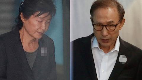 韩国前总统监狱中秋福利:70岁朴槿惠吃小饼干 79岁李明博喝果汁