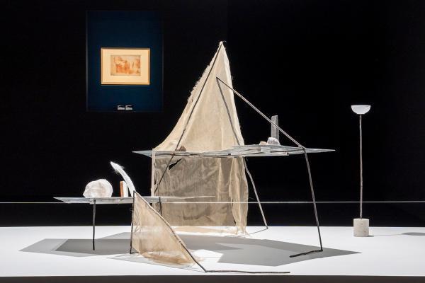 """""""意大利文艺复兴纸上绘画:一次与中国的对话""""展览现场, 摄影:木木美术馆视频团队"""