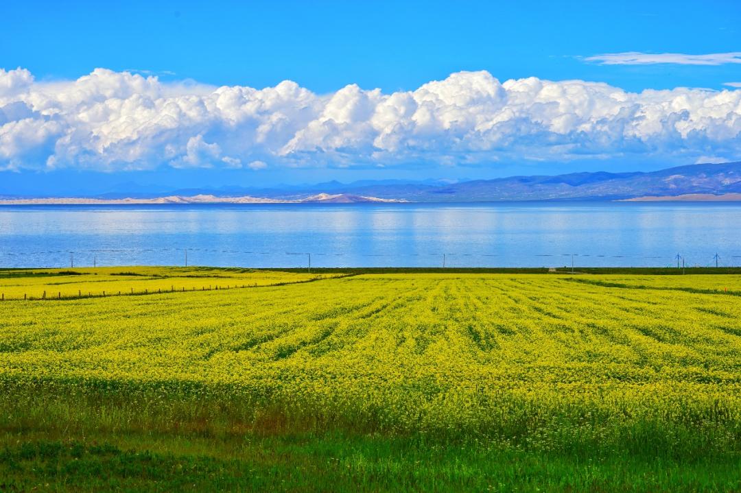 高原上的青海湖