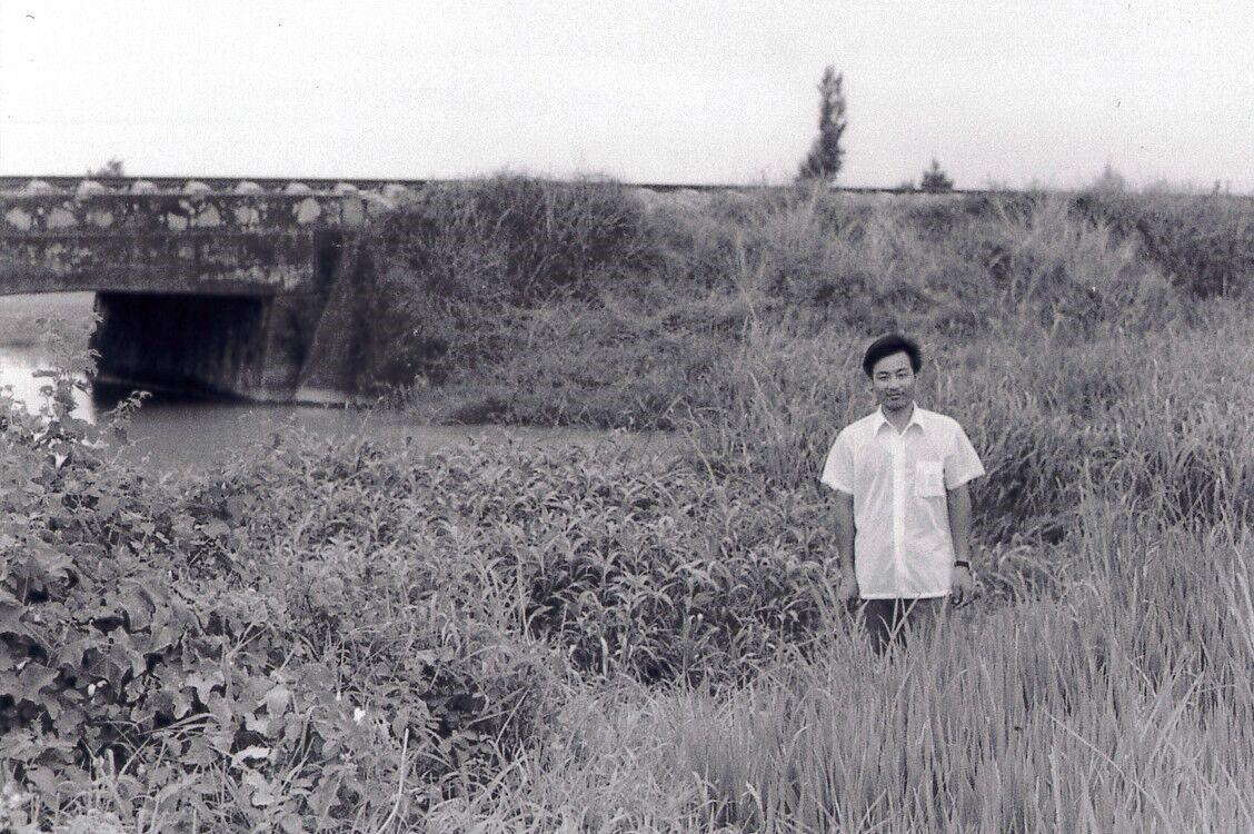 (1983年,本文作者为李必湖在发现野败处拍摄的照片。)