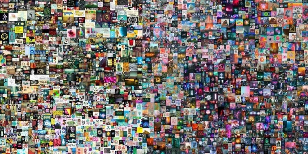 《每一天:最初的5000天》 图片来自网络