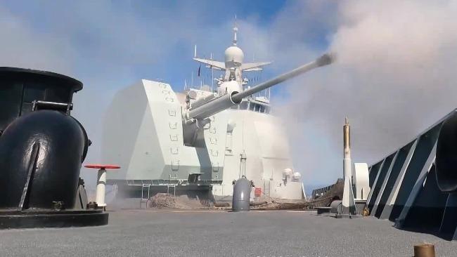 淬火深蓝!海军第38批护航编队训练画面超热血!