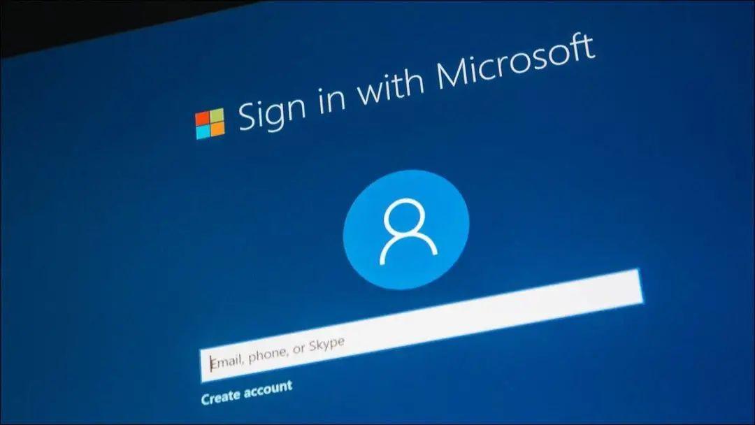 微软会提供多样的登录方式