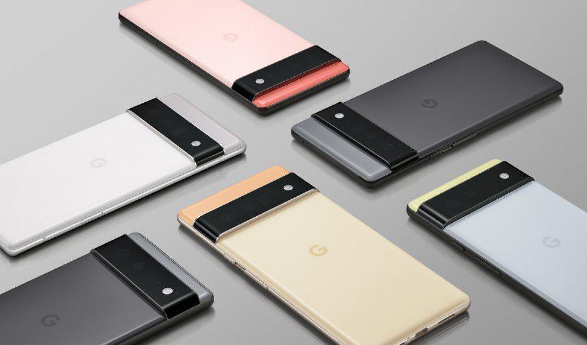 谷歌 Pixel 6 渲染图