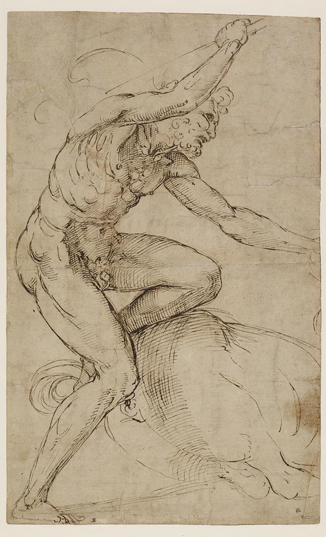 拉斐尔·圣齐奥,简称拉斐尔(1483—1520)的画作《赫拉克勒斯与半人马》