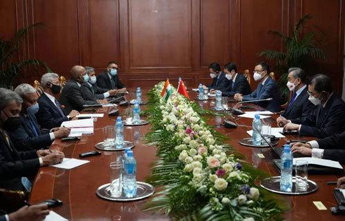 中印外长会面 苏杰生:印方不相信文明冲突论,亚洲保持团结非常重要