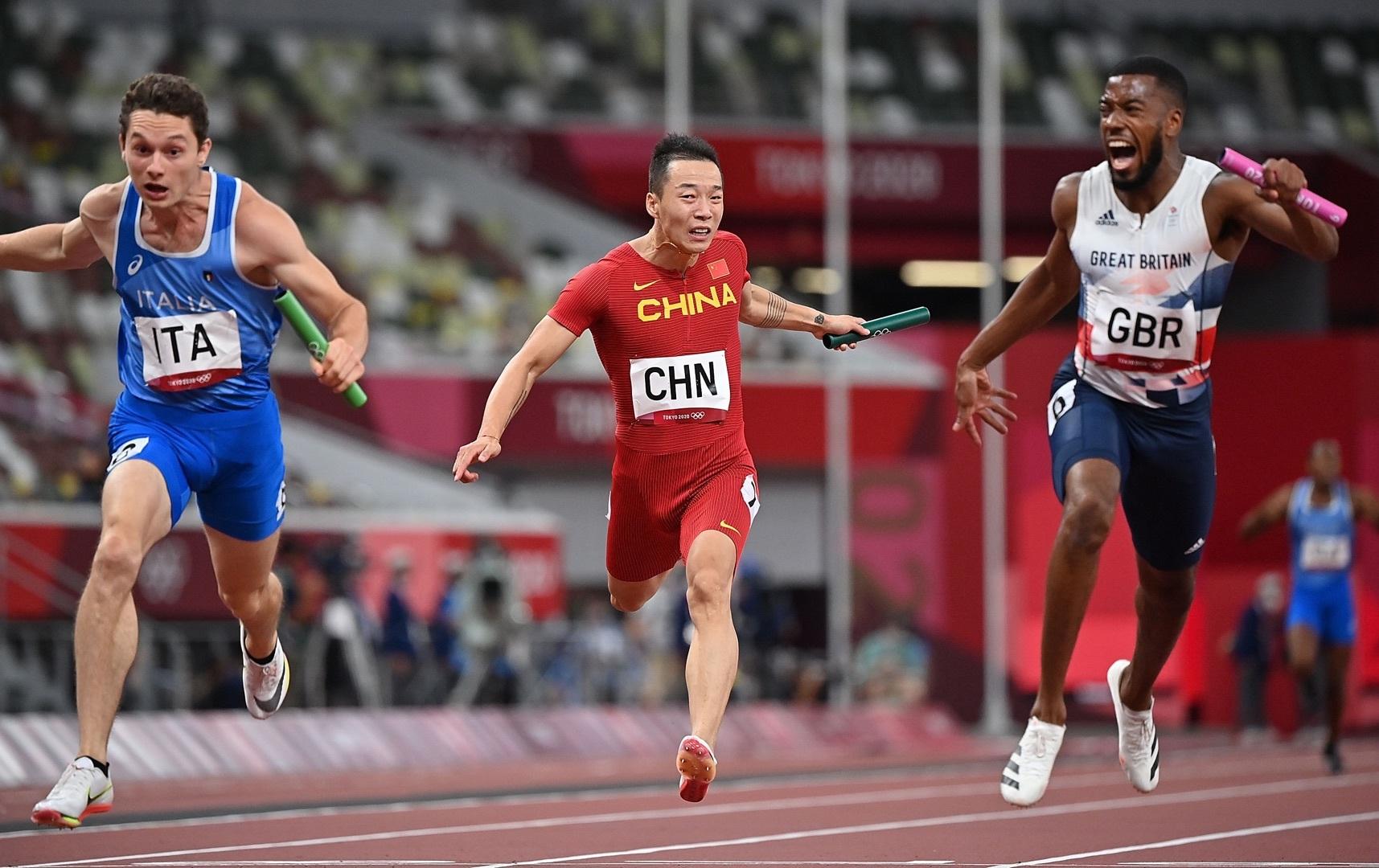 英国短跑选手B瓶尿样为阳性 中国接力队有望替补铜牌