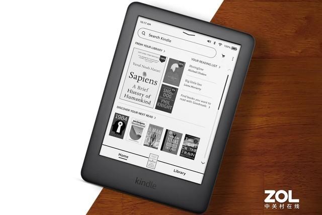 亚马逊为Kindle更新系统,界面焕然一新