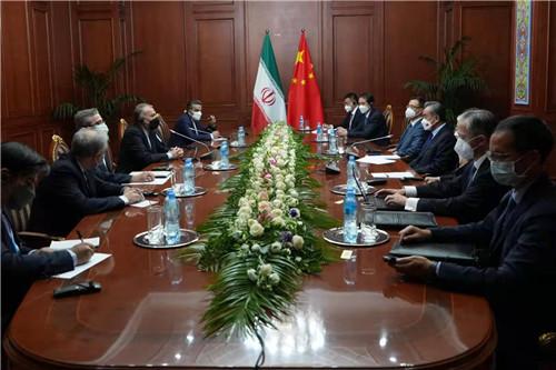 王毅会见伊朗外长:支持伊成为上合正式成员