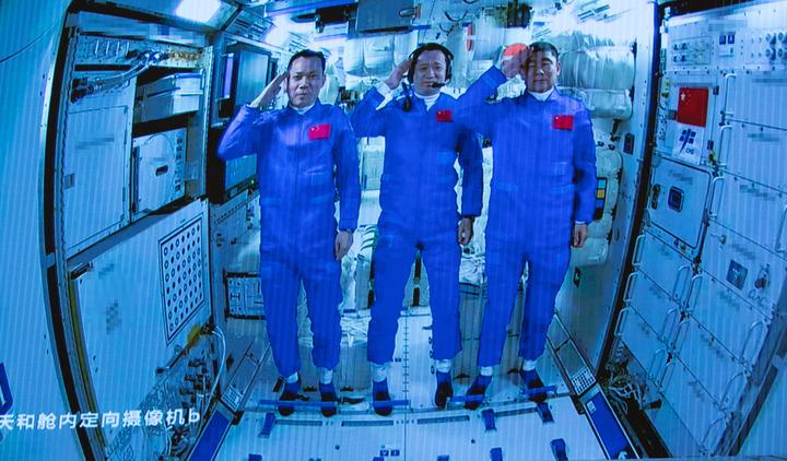 神舟十二号载人飞船飞行任务全记录