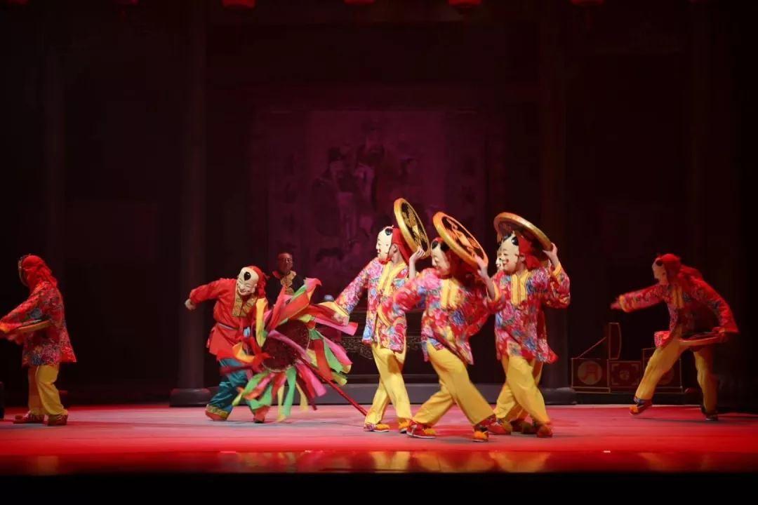 大型舞台剧《千年傩》赴韩国公演