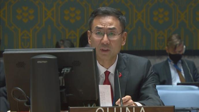 中国常驻联合国副代表呼吁国际社会努力改善叙利亚人道状况