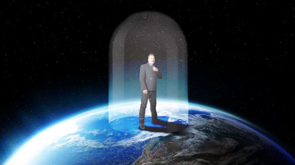 图:马斯克没有飞上太空是叶公好龙?
