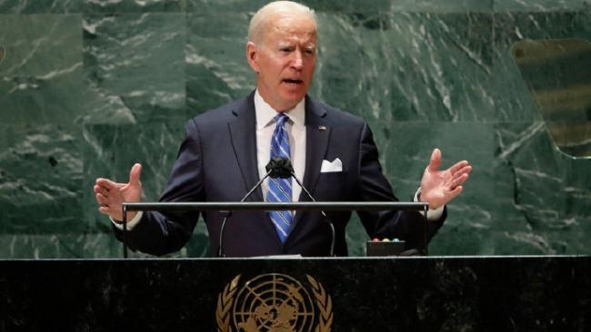 """拜登首次在联大演讲,果然宣称""""美国不寻求新冷战"""""""