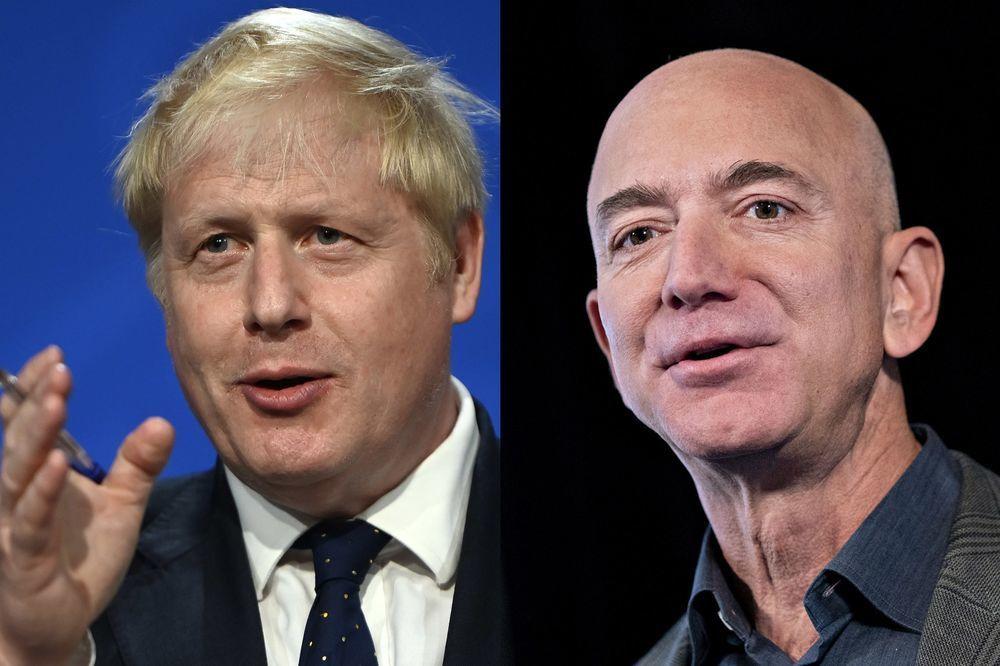 英国首相约翰逊将与贝佐斯会面 要求亚马逊缴税