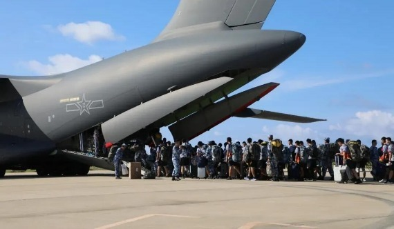 運20赴南海島礁組織老兵返鄉 外國專家:展示遠程投送能力