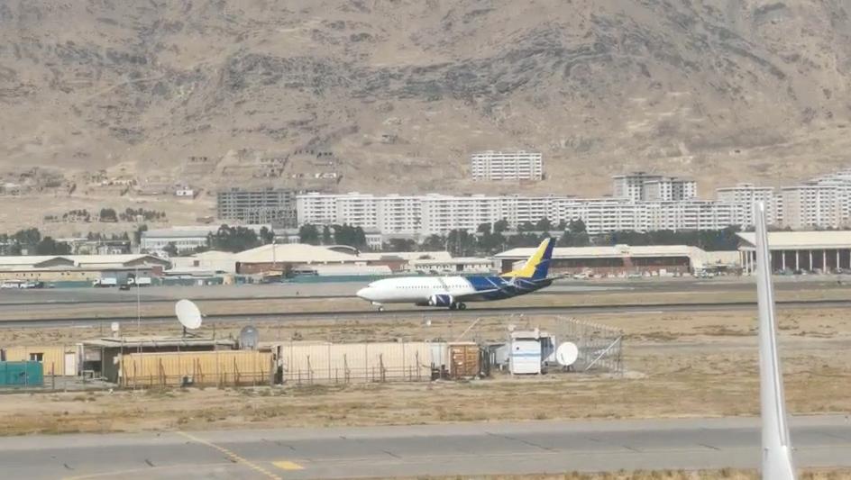 塔利班掌權后 阿富汗起飛首架國際航班
