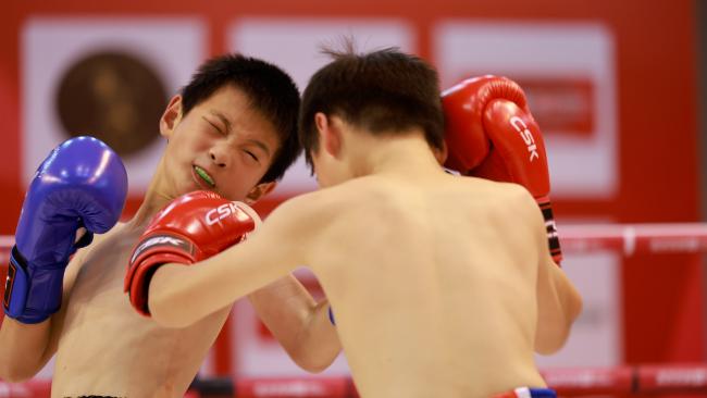 北京格斗再起波澜 少年英雄后生可畏
