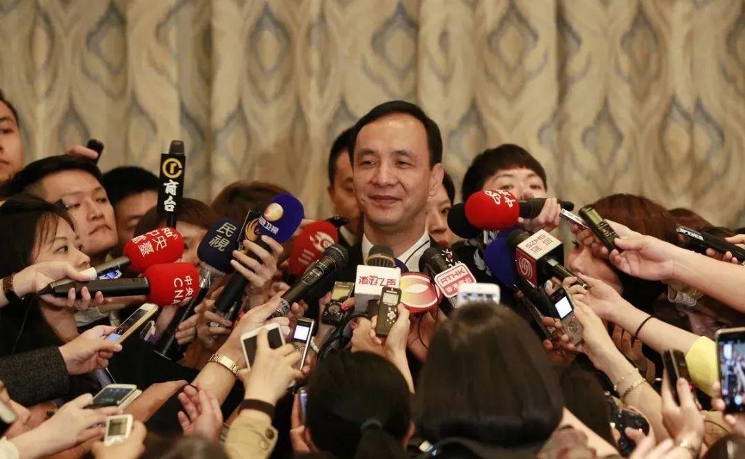 """六年换了四次党主席 中国国民党再次由""""政治精算师""""朱立伦掌舵"""