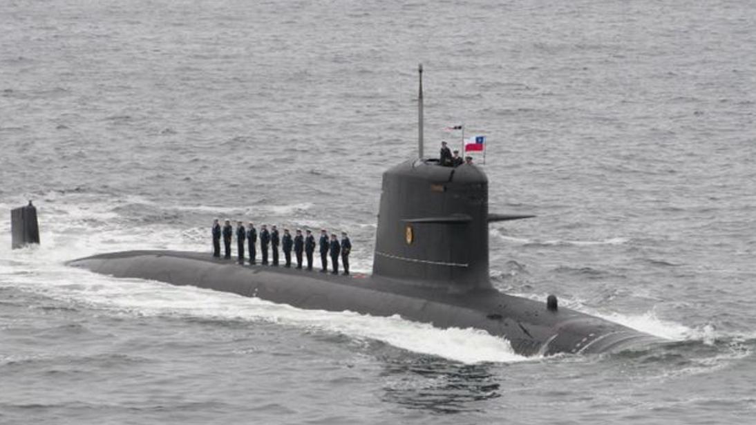 """本次""""击沉""""美国航母的智利潜艇是位15岁的""""老兵"""",这对世界最强海军而言即丢人,更致命。"""