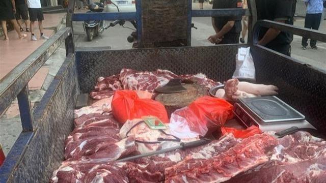 城管扣違規商販300斤豬肉?官方:防止肉變質貶值已送福利院