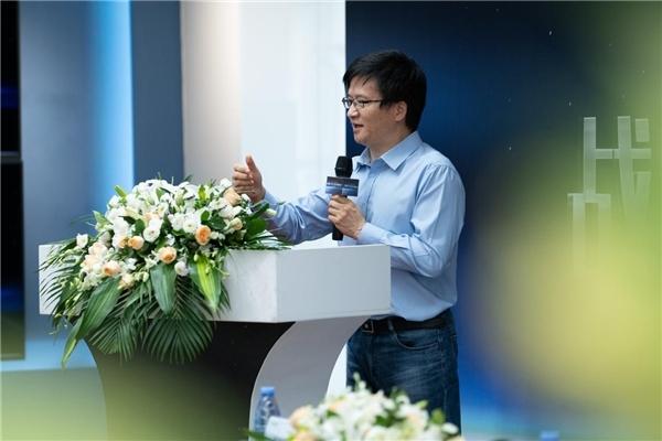 (绿米联创创始人、董事长兼CEO游延筠发表重要讲话)