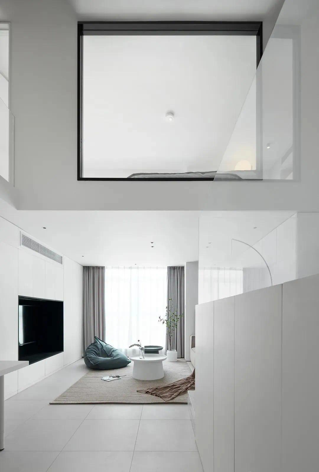 小戶型裝修典范!這套50㎡小復式公寓,隱藏收納設計太贊了!