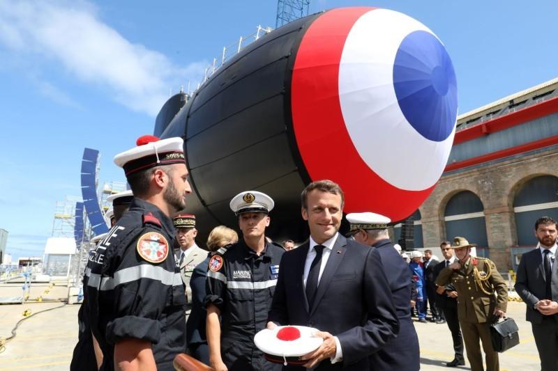 法国总统府:法国6月起就对法澳潜艇协议产生严重疑虑