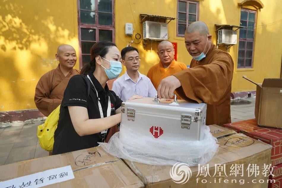 慈航万里行而不辍,慧海公益走进禅宗重要传承地——安庆