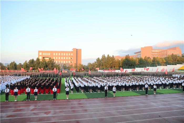 合唱《没有共产党就没有新中国》 曲阜校区