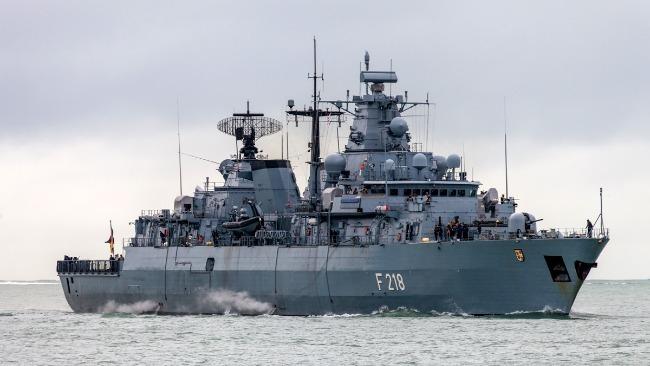 德國護衛艦欲停靠中國港口遭拒絕 媒體曝光其最新動向