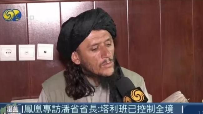 凤凰专访潘杰希尔省长:战争已基本结束 反塔武装首领或已逃亡