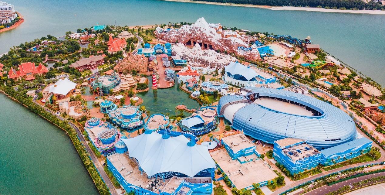 海花岛童世界海洋乐园全景图