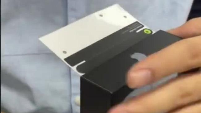 媲美原装!iPhone 13包装贴纸已被华强北破解