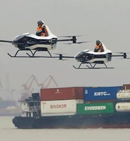 中国飞行汽车实地测试图曝光 相关企业回应