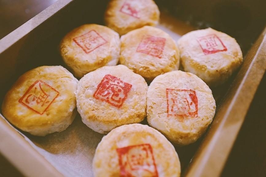 鹿园的榨菜鲜肉月饼,图源:@典典吃喝教主