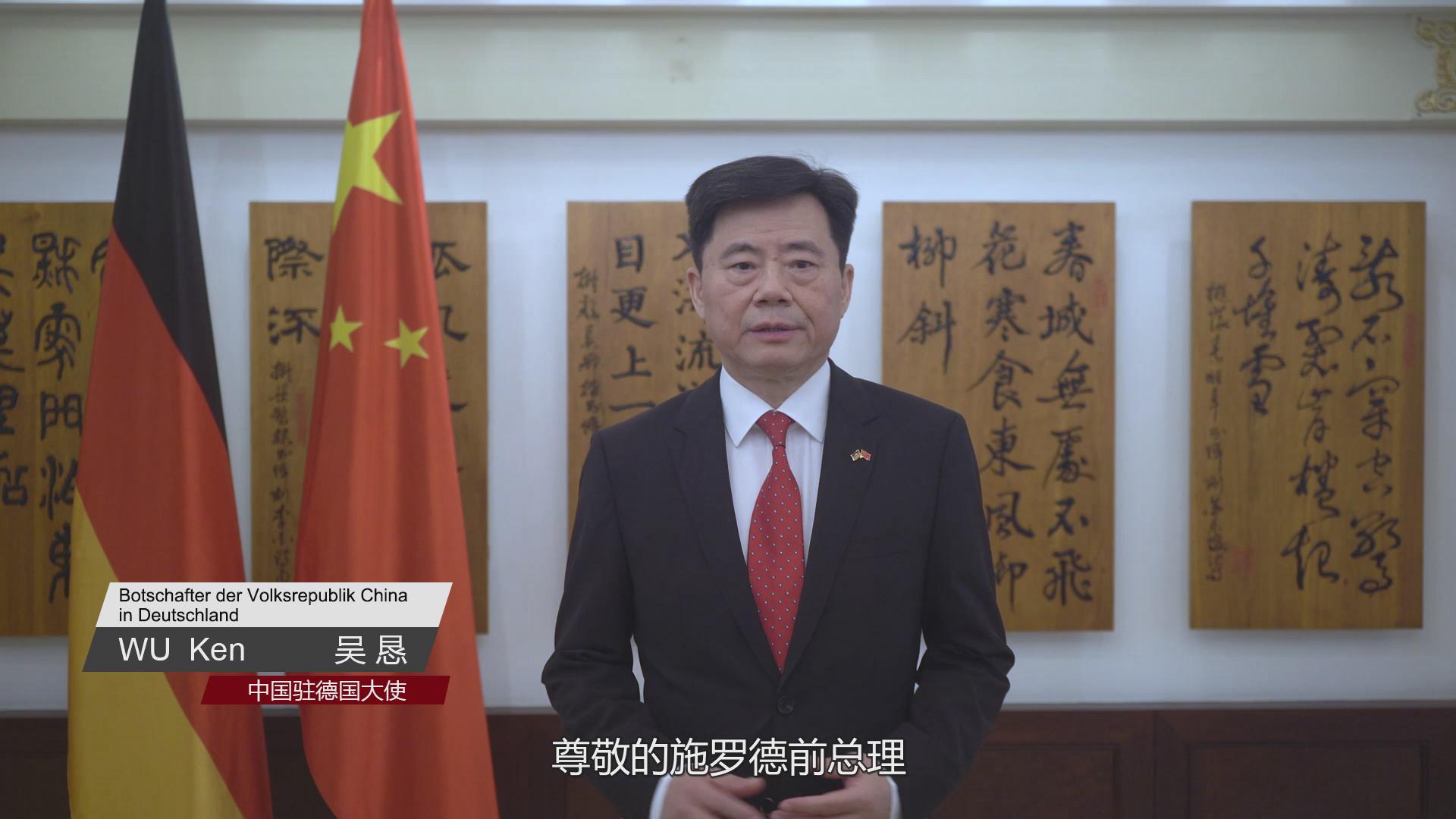 """中国""""双循环""""发展是要""""搞封闭""""?驻德大使回应"""